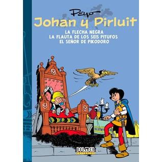 JOHAN Y PIRLUIT 03: LA FLECHA NEGRA - EL SEÑOR PIKODORO Y LA FLAUTA DE LOS SEIS