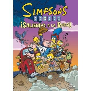 SIMPSONS COMICS: SALIENDO A LA RUTA