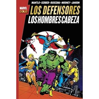 LOS DEFENSORES: LOS HOMBRES CABEZA(MARVEL GOLD)