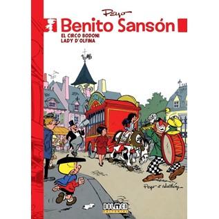 BENITO SANSON 03. EL CIRCO BODONI /  LADY D'OLFINA