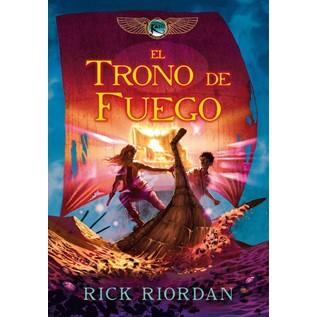 TRONO DE FUEGO. LAS CRONICAS DE KANE 2