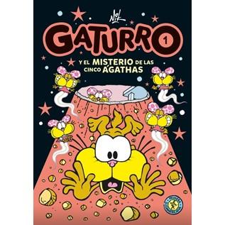 GATURRO 01 EL MISTERIO DE LAS CUATRO AGATHAS