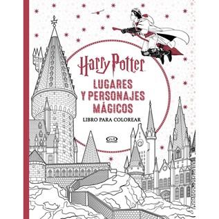 HARRY POTTER: LUGARES Y PERSONAJES MAGICOS (LIBRO PARA COLOREAR)