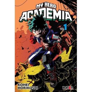 MY HERO ACADEMIA 01 ( TAPA ALTERNATIVA)
