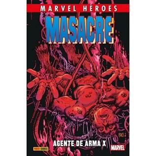CMH 84: MASACRE 04. AGENTE DE ARMA X