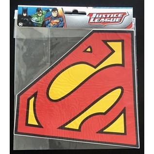 CALCO SUPERMAN LOGO CALADO