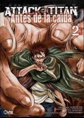 ATTACK ON TITAN: ANTES DE LA CAIDA 02
