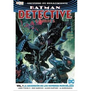 BATMAN DETECTIVE COMICS VOL. 01: LA ASCENSION DE LOS HOMBRES MURCIELAGO