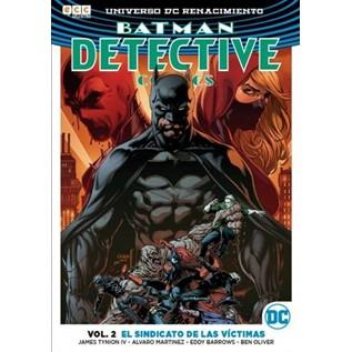 BATMAN DETECTIVE COMICS VOL. 02: EL SINDICATO DE LAS VICTIMAS