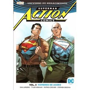 ACTION COMICS VOL. 03: HOMBRES DE ACERO