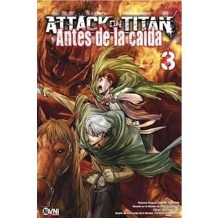 ATTACK ON TITAN: ANTES DE LA CAIDA 03