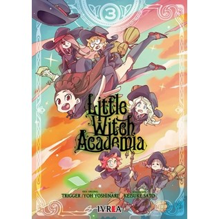LITTLE WITCH ACADEMIA 03 ULTIMO TOMO