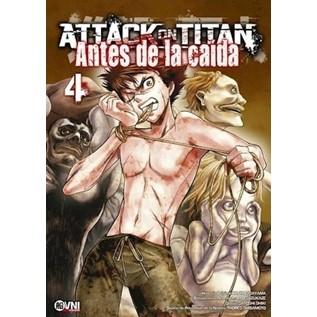 ATTACK ON TITAN: ANTES DE LA CAIDA 04
