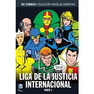 DC COMICS COLEC NOVELAS GRAFICAS 76: LA LIGA DE LA JUSTICIA INTERNACIONAL PARTE1