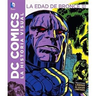 DC COMICS LA HISTORIA VISUAL 05 LA EDAD DE BRONCE 1970 - 1977