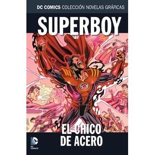 DC COMICS COLEC NOVELAS GRAFICAS 82: EL CHICO DE ACERO
