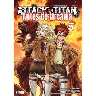 ATTACK ON TITAN: ANTES DE LA CAIDA 05