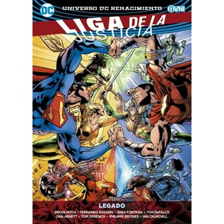 LIGA DE LA JUSTICIA VOL. 04: LEGADO