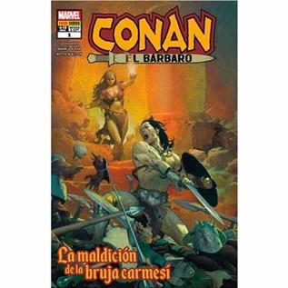 CONAN EL BARBARO 01: LA MALDICION DE LA BRUJA CARMESI