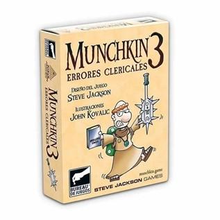 MUNCHKIN 03: ERRORES CLERICALES