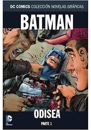 DC COMICS COLEC NOVELAS GRAFICAS 87 BATMAN ODISEA PARTE 1