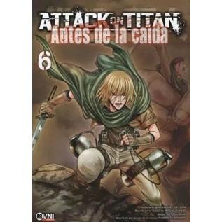 ATTACK ON TITAN: ANTES DE LA CAIDA 06