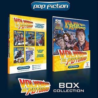 VOLVER AL FUTURO PACK COMICS 01 AL 05