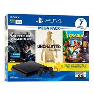 PS4 SLIM 1TB MEGA PACK 7