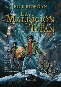 PERCY JACKSON: LA MALDICION DEL TITAN NOVELA GRAFICA
