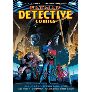 BATMAN DETECTIVE COMICS VOL. 05 UN LUGAR SOLITARIO PARA VIVIR
