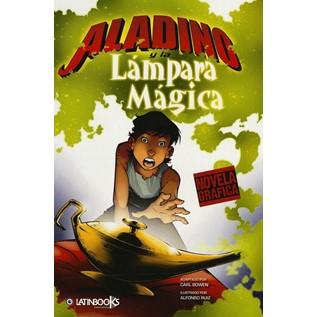 ALADINO Y LA LAMPARA MAGICA (Novela Grafica)