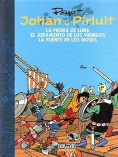 JOHAN Y PIRLUIT 02: LA PIEDRA DE LA LUNA - EL JURAMENTO DE LOS VIKINGOS
