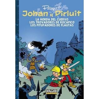 JOHAN Y PIRLUIT 06: LA HORDA DEL CUERVO, LOS TROVADORES DE ROCAPICO Y LOS PITUF