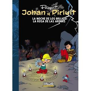 JOHAN Y PIRLUIT 07: LA NOCHE DE LOS BRUJOS - LA ROSA DE LAS ARENAS