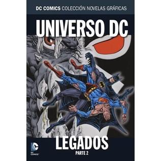 DC COMICS COLEC NOVELAS GRAFICAS 46: LEGADOS PARTE 2
