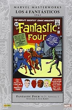 MARVEL MASTERWORKS 02: LOS 4 FANTASTICOS (1963)