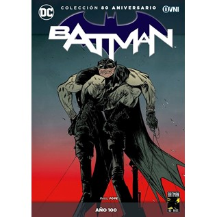 COLECCION BATMAN 80 ANIVERSARIO 18: A O 100