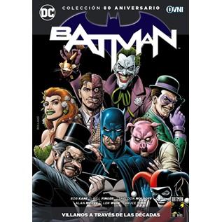 COLECCION BATMAN 80 ANIVERSARIO 19: VILLANOS A TRAVES DE LAS DECADAS