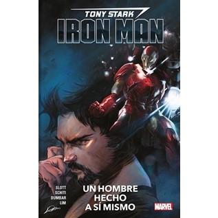 TONY STARK IRON MAN 01 UN HOMBRE HECHO A S  MISMO