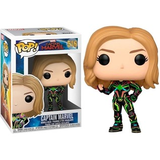 FUNKO POP MARVEL CAPITAIN MARVEL 516 CAPITAIN MARVEL WITH NEON SUIT