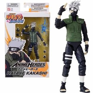 FIGURA NAR HATAKE KAKASHI NARUTO ANIME HEROES ARTICULADO 17CM 36903