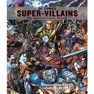 DC COMICS SUPER VILLAINS THE COMPLETE VISUAL HISTORY (ENGLISH)