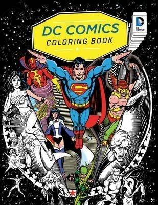 DC COMICS COLORING BOOK (ENGLISH)