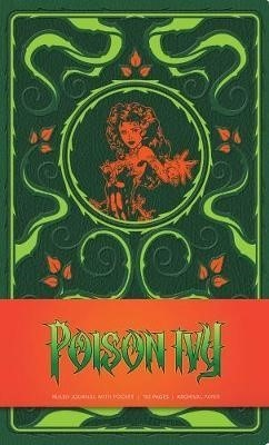 DC COMICS POISON IVY HARDCOVER RULED JOURNAL (ENGLISH)