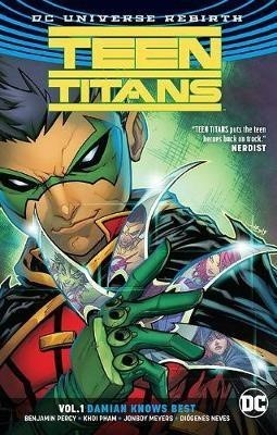 TEEN TITANS VOL 01 DAMIAN KNOWS BEST (ENGLISH)