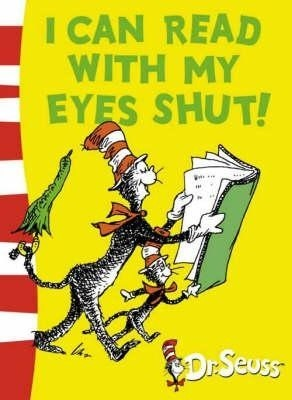 DR SEUSS GREEN BACK BOOK I CAN READ WITH MY EYES SHUT (ENGLISH)