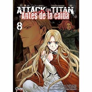 ATTACK ON TITAN: ANTES DE LA CAIDA 08