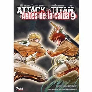 ATTACK ON TITAN: ANTES DE LA CAIDA 09