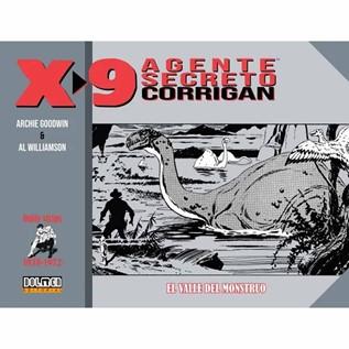 AGENTE SECRETO X9 03 1970-1972 EL VALLE DEL MONSTRUO