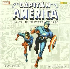 CAPITAN AMERICA: LAS TIRAS DE PRENSA DE 1940